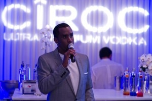 p diddy 300x200 Ciroc Vodka with Sean Combs