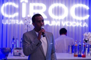 Sean John Combs, brand ambassador for Ciroc Vodka