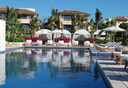 A pool at The St. Regis Punta Mita Resort