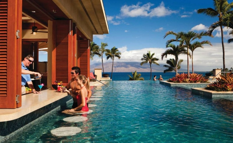 Serenity Pool Bar at Four Seasons Resort Maui at Wailea