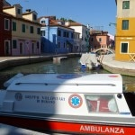 water ambulance 150x150 La Serenissima   Docking in Venice