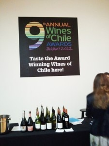 Award-winning wines of Chile