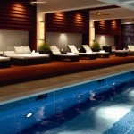Indoor pool at The Ritz-Carlton, Okinawa