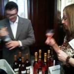 Bartenura wine tasting station