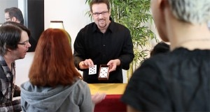 card trick 300x161 Magician Anthony Asimov
