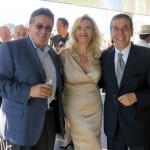 Carlos Lopes and Jack Naderkhani with Sophie Gayot
