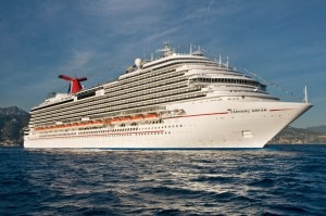 Carnival's Dream cruise ship