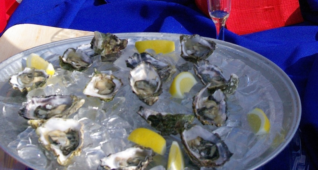 Christophe Happillon's oysters