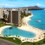 Duke Kahanamoku Lagoon on Waikiki Beach
