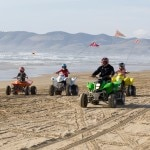 Riding ATVs in Oceano