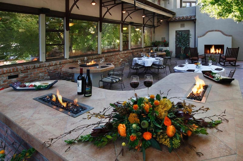 Patio Seating At Paso Robles Inn Steakhouse