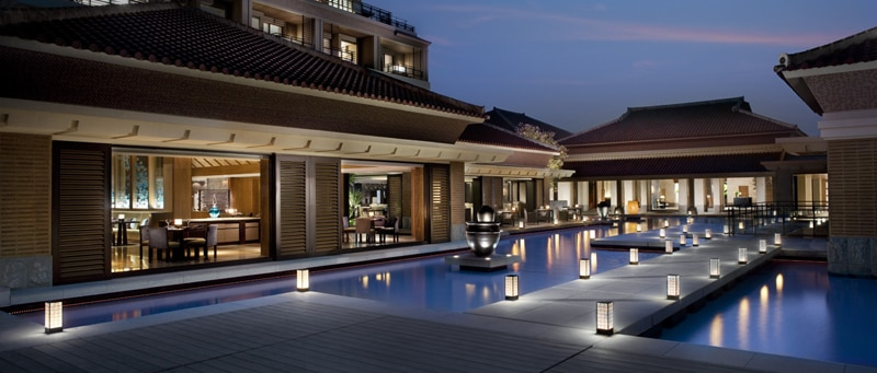 Holy water ponds at The Ritz-Carlton, Okinawa
