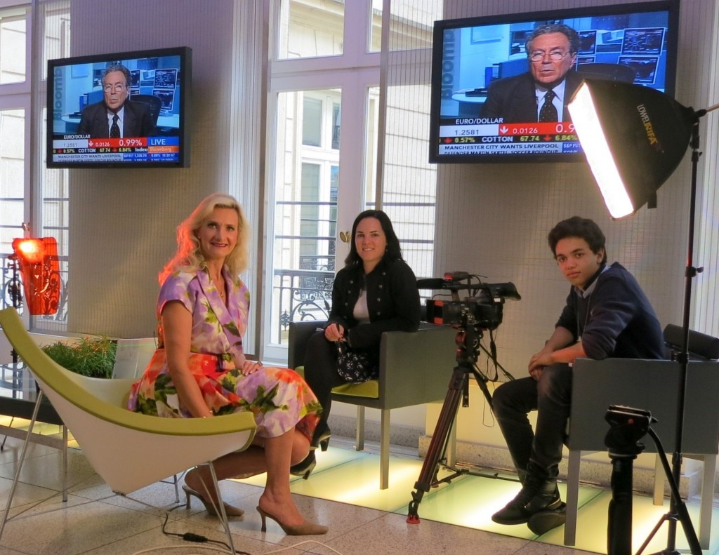 Sophie Gayot - Caroline Connan Bloomberg TV
