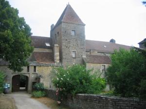 The famed Château-Gevrey Chambertin