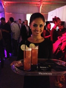 Hennessy VS Berry cocktails