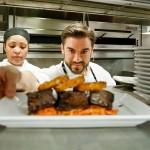 Chef Ryan DePersio in the kitchen
