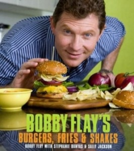 flaycookbookcover 266x300 Bobby Flays Burgers, Fries & Shakes cookbook