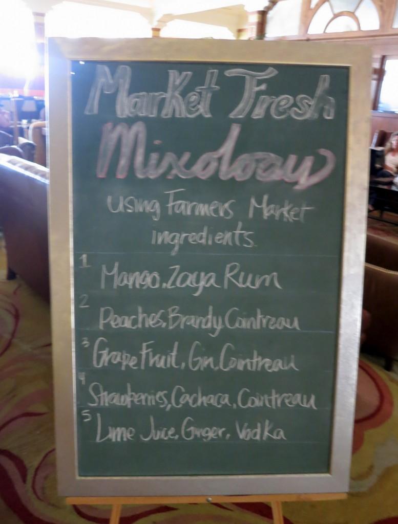 Market Fresh Cocktails
