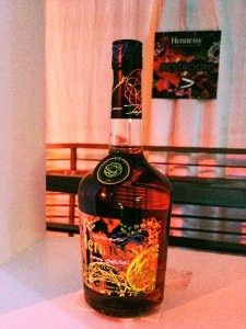 hennessy futura bottle 225x300 Hennessy VS Limited Edition bottle designed by Futura