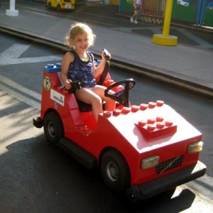 Having fun at Legoland