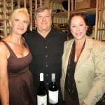 Owners Suzanne and Roger Perry with Sophie Gayot
