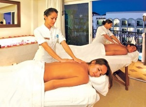 the royal playa massages 300x221 Massages at the spa at THE ROYAL Playa del Carmen