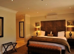 131 herbert baker guestroom 300x221 A guest room at 131 Herbert Baker in Pretoria, South Africa
