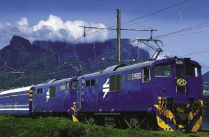 blue train table mountain 300x197 South Africas The Blue Train