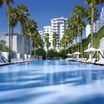 The pool at the Delano South Beach in Miami