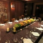 Private room Crustacean Restaurant Beverly Hills