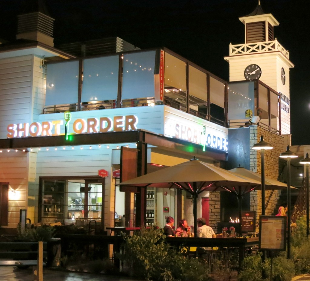Short Order, A burger place