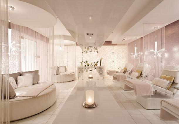 The Spa Lounge At Jw Marriott Los Angeles L A Live