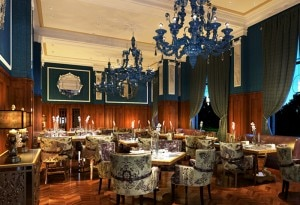 Bombay Brasserie at Taj Cape Town in South Africa