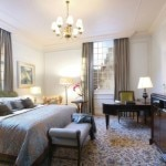A guest room at Taj Cape Town in South Africa