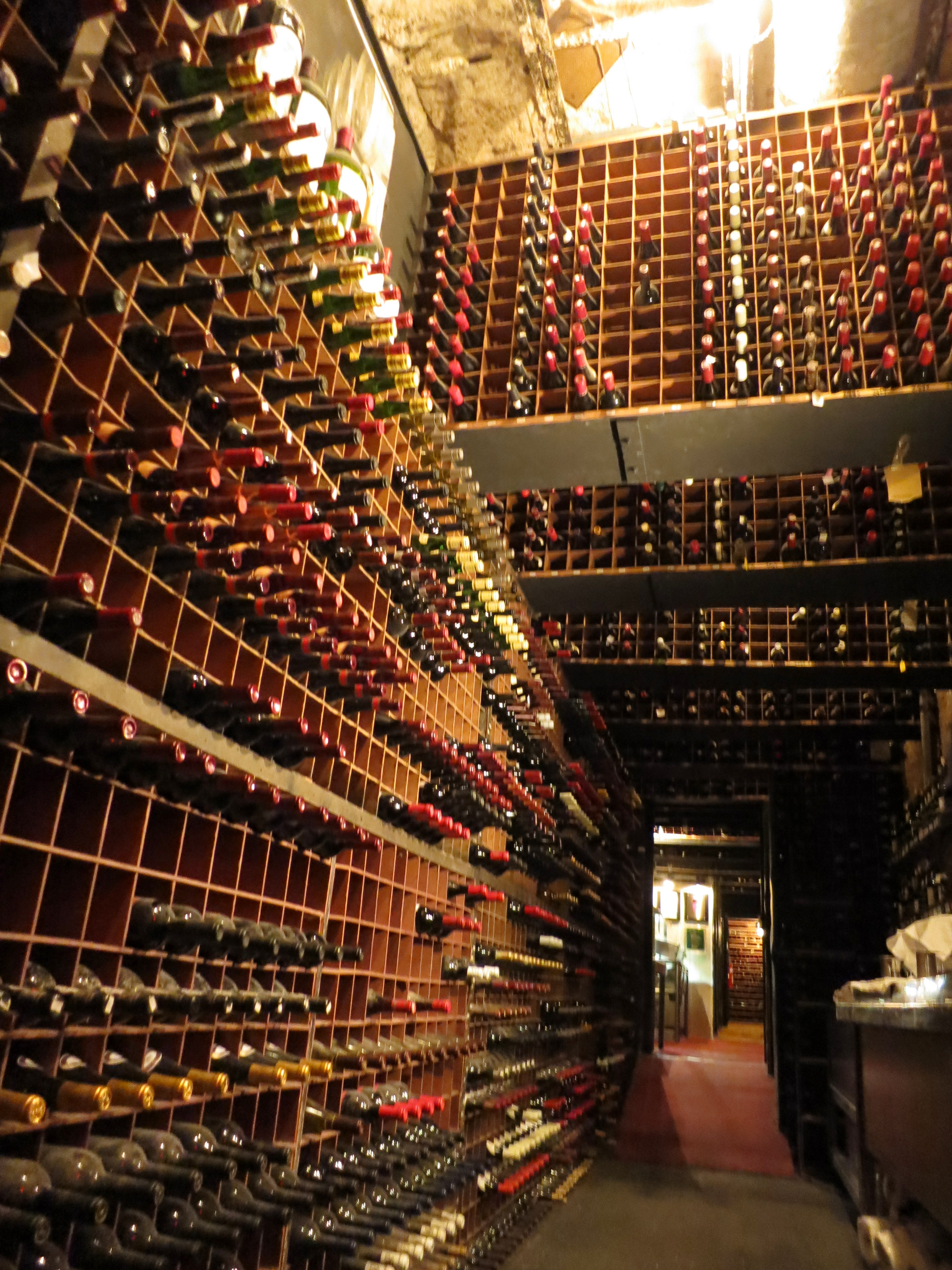 The wine cellar gayot 39 s blog for House wine cellar