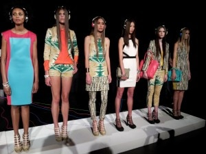 2012 09 07 14.24.58 300x225 Island inspired and tribal prints figure prominently in Bakers latest collection