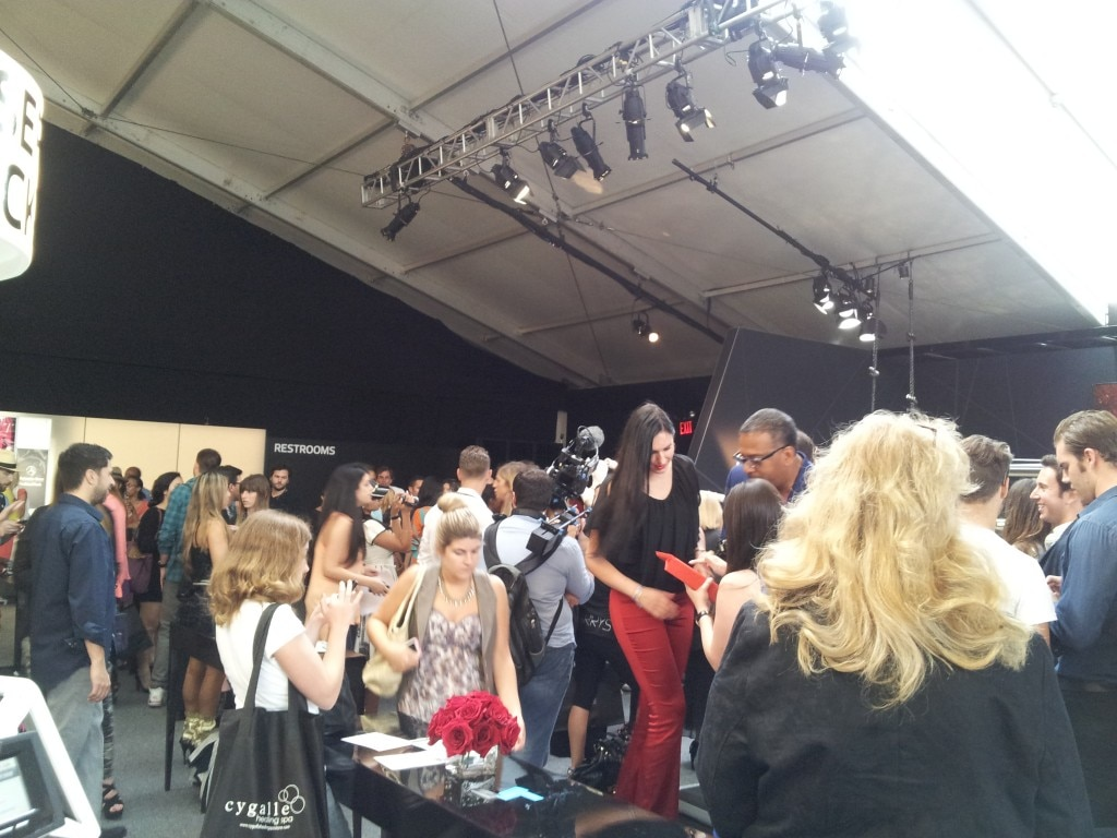 Fashionistas came out in droves to see Walter Baker's spring 2013 collection