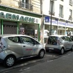 Autolib' electric car sharing in Paris