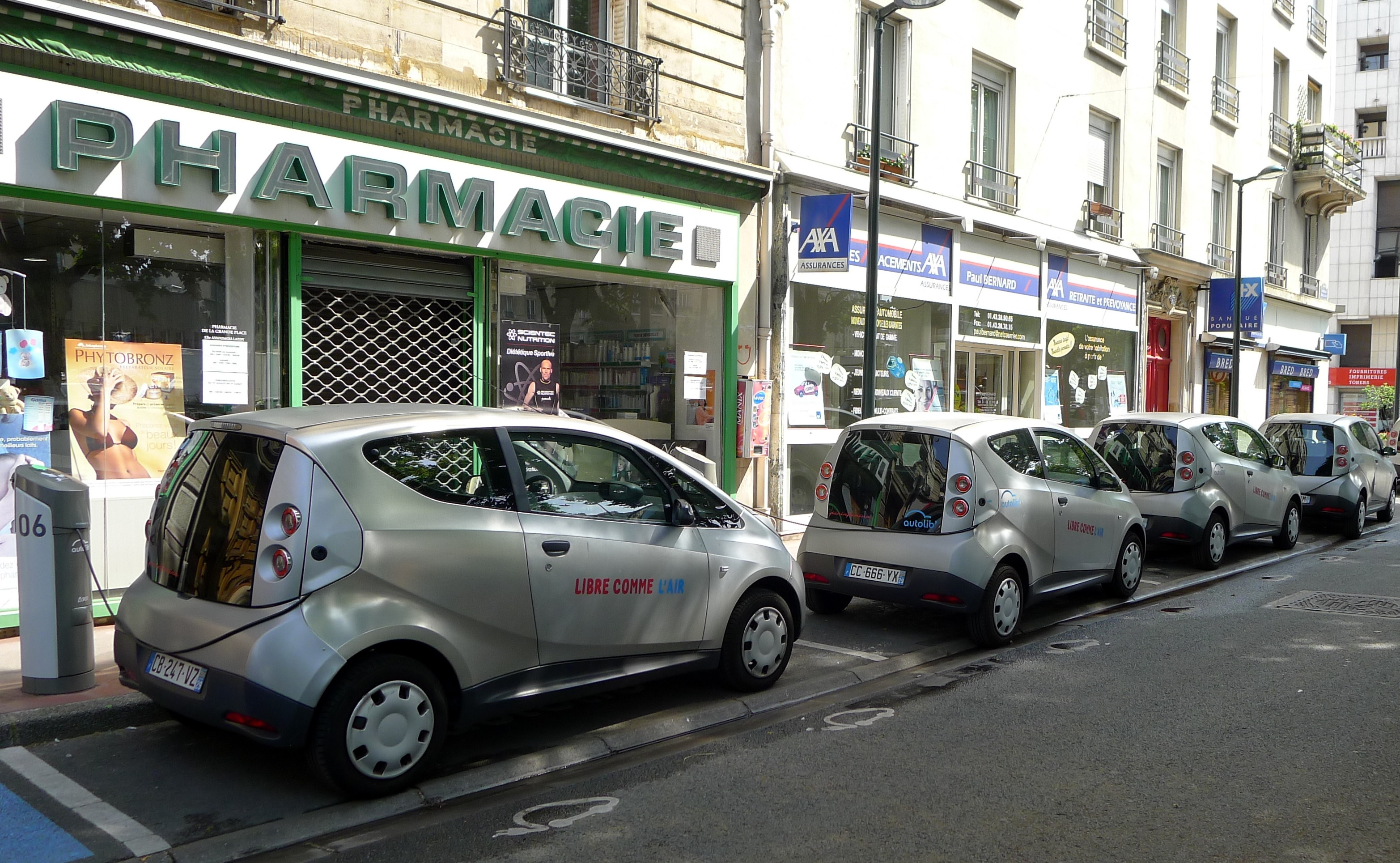 Awesome Autolib Electric Car Sharing In Paris  GAYOT39s Blog