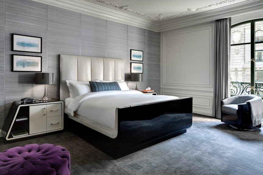Guests Are Sure To Feel At Home In The Bentley Suite S Luxurious Bedroom Gayot S Blog