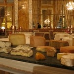 cheese tray 150x150 Foie Gras Under the Splendor of Baccarat Chandeliers