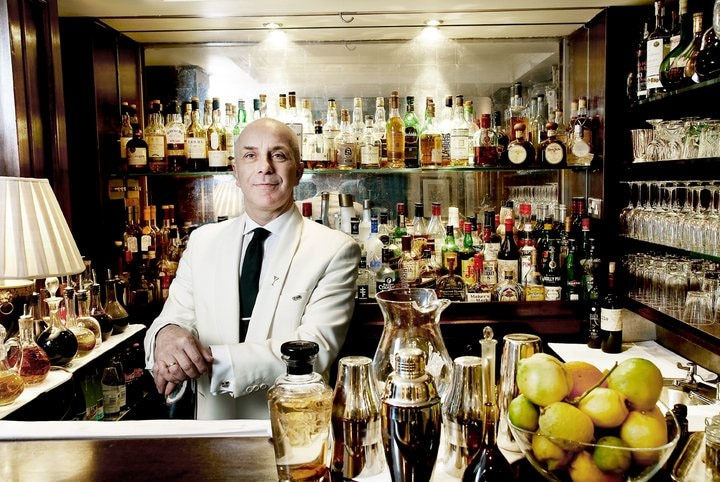 Bar Manager Alessandro Palazzi At DUKES Bar In London  Bar Manager
