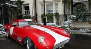An Aston Martin outside the DUKES hotel in London