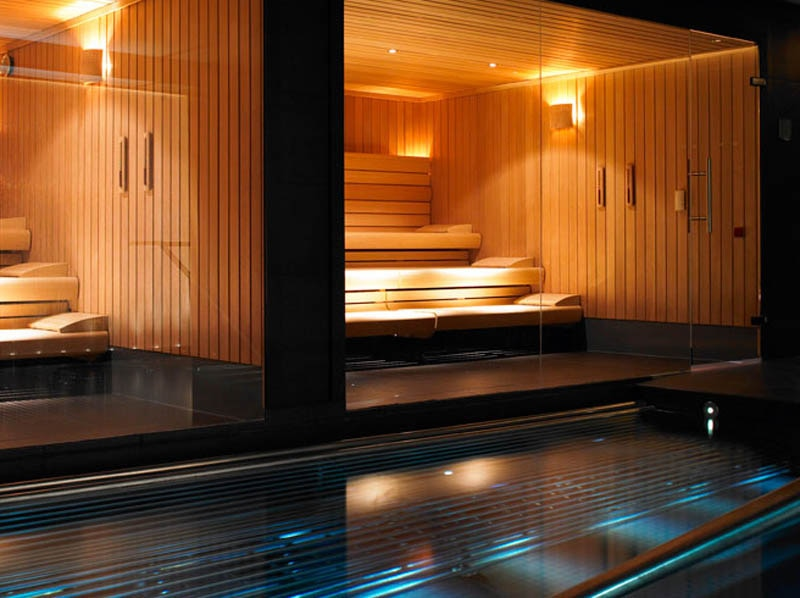 the spa pool at the gleneagles hotel in scotland gayot 39 s. Black Bedroom Furniture Sets. Home Design Ideas