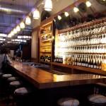 The bar at Corkbuzz Wine Studio