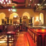 The bar at Addison restaurant