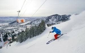 canyons resort ski 2 300x186 Park City, Utah ski course (Canyons Resort, by Scott Markewitz)