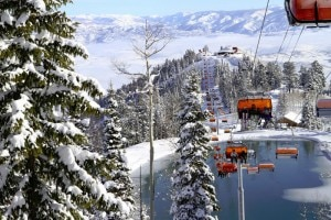 Park City, Utah ski lifts (courtesy of Canyons Resort, by Justin Olsen)