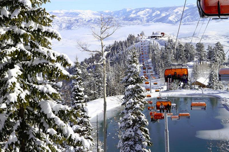 Park City, Utah ski lifts (courtesy of Canyons Resort, by Justin Olsen)