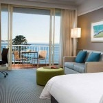 A guest room at Crowne Plaza Terrigal